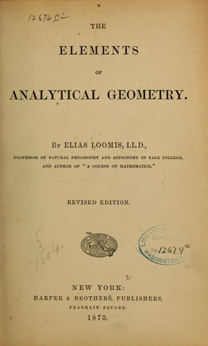 Download The elements of analytical geometry