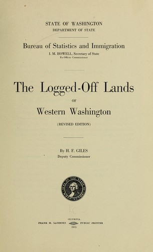 Download The logged-off lands of western Washington.