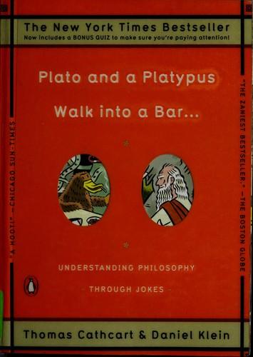 Plato and a platypus walk into a bar–