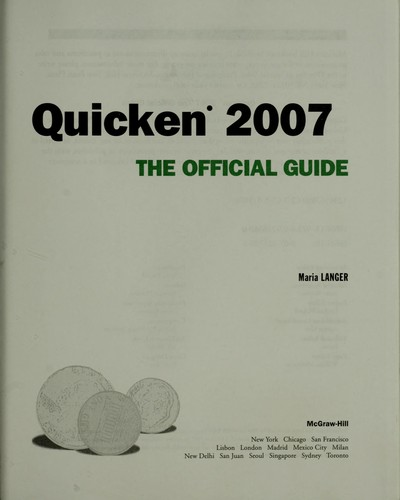 Download Quicken 2007