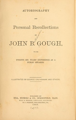 Download Autobiography and personal recollections of John B. Gough