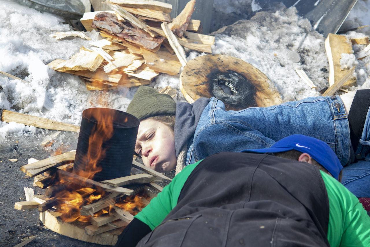 Community lured out into the cold for 5th Annual Fire & Ice Festival