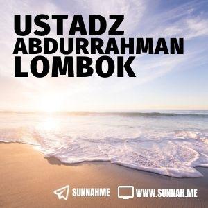 al Wabilus Shoyyib - Ustadz Abdurrahman Lombok (kumpulan audio)