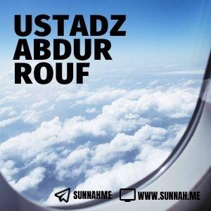 Kumpulan audio kajian tematik Ustadz Abdurrouf