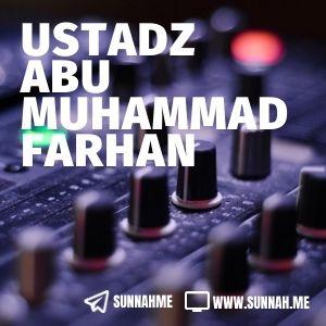 - Ustadz Abu Muhammad Farhan (29 audio kajian)