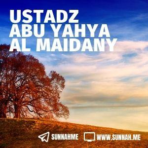 Kumpulan audio kajian tematik Ustadz Abu Yahya al Maidany