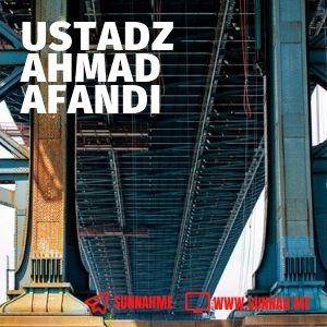 Kumpulan audio kajian tematik Ustadz Ahmad Afandi