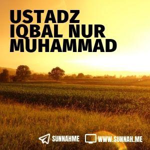 Kumpulan audio kajian tematik Ustadz Iqbal Nur Muhammad