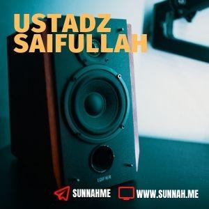 Kumpulan audio kajian tematik Ustadz Saifullah