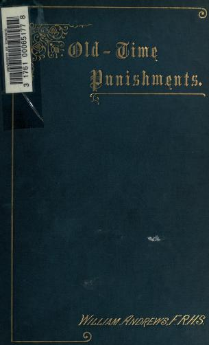 Old-time punishments by Andrews, William