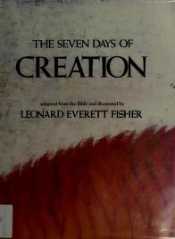 Cover of: The seven days of creation | Leonard Everett Fisher