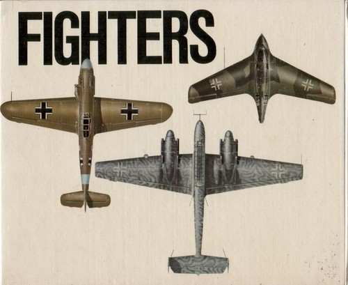 German Air Force fighters of World War Two